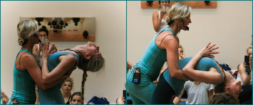 Assisting Shiva Rea: Fluid Power, London June 2014