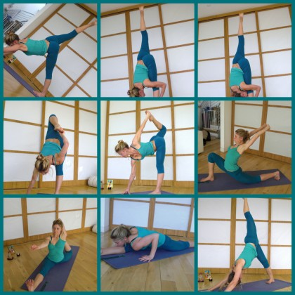 Heart opening prana flow sequence