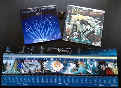 sun and moon calendars 2013 a