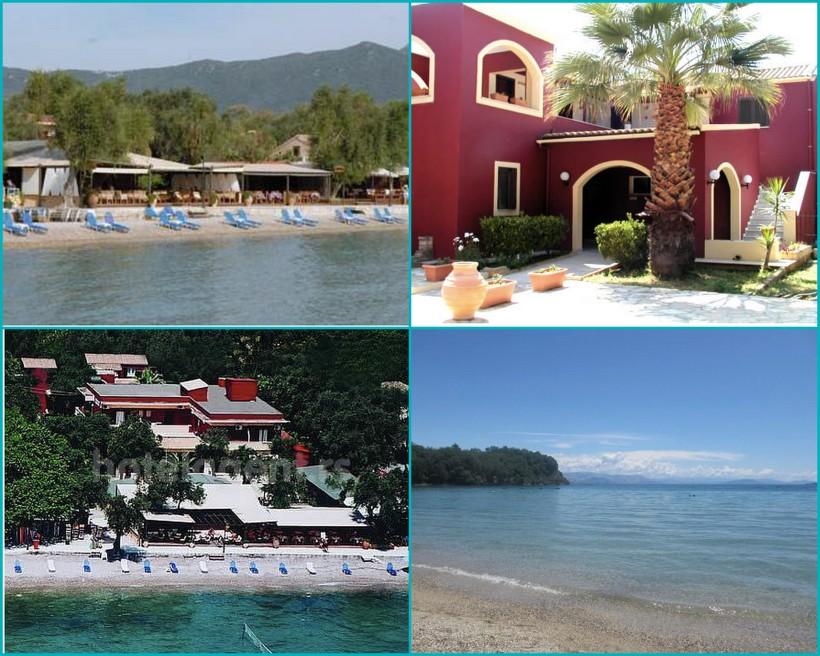 Beachfront Hotel, Corfu'