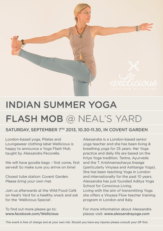Flash Mob incollaboration with Wellicious