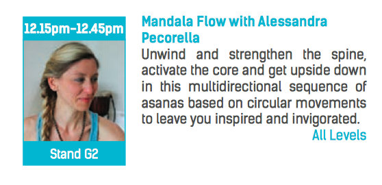 Mandala Flow at Yoga Show 2014