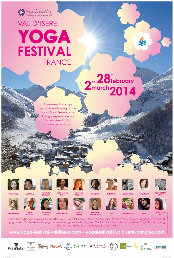 Yoga Festival Val D'Isere 2014 Edition